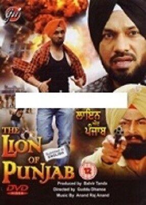 THE LION OF PUNJAB - PUNJABI - BOLLYWOOD DVD -FREE POST