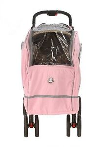 Warm as a Lamb  Stroller Cover -- pink