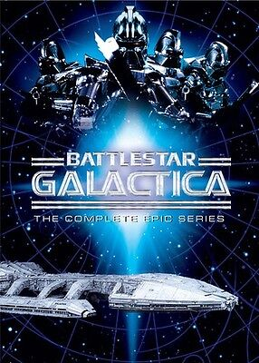 Battlestar Galactica  The Complete Epic Series  10 Discs   Dvd Used Very Good