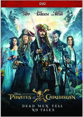 Pirates Of The Caribbean  Dead Men Tell No Tales  New Dvd  Ac 3 Dolby Digital