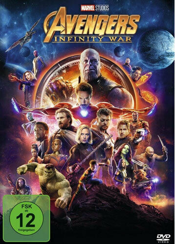 Marvel - Avengers: Infinity War - DVD / Blu-ray - *NEU*