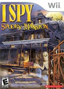 Wii Game: I Spy, Spooky Mansion