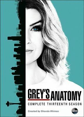 Greys Anatomy: Complete Thirteenth Season 13 (DVD, 2017, 6-Disc Set) - Brand New