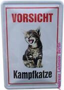 Vorsicht Katze
