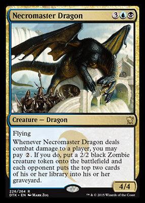 x1 Necromaster Dragon MTG Dragons of Tarkir M/NM, English