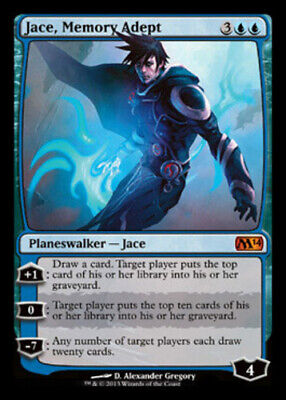 1x MTG Magic 2014 Jace, Memory Adept - Foil, Light Play, English, used for sale  Wilmington