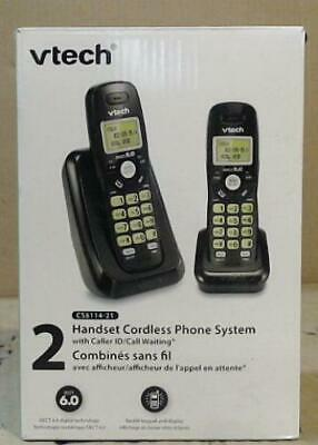 NEW OPEN BOX Vtech CS6114-21 Dect 6 2-Handset Cordless Phone System