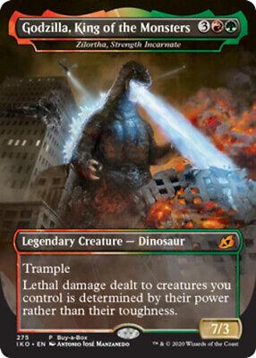 1x Godzilla, King of the Monsters - Zilortha, Strength Incarnate NM, English MTG