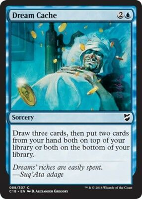 Dream Cache - x4 Dream Cache MTG Commander 2018 M/NM, English