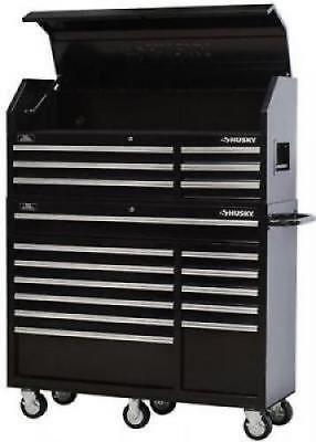 "Shop Rolling Tool Caddy Box Cabinet Set 52"" 18 drawer Garage Storage Organizer"