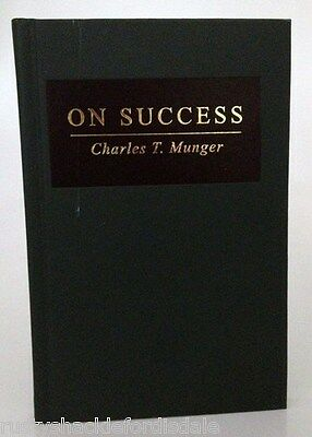 On Success   Charlie Munger   Berkshire Hathaway   New