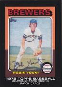 Robin Yount Card