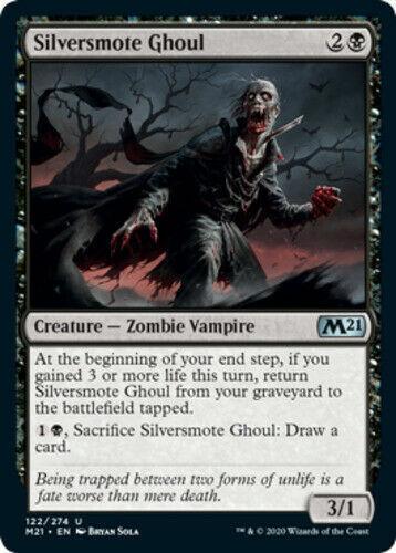 Silversmote Ghoul x4 Magic Core Set 2021 m21 MTG 4 cards