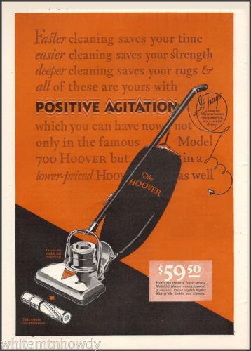 Antique Hoover Vacuum Cleaner Ebay