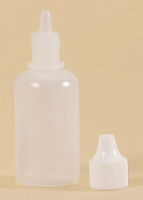 Full Case of 120ml Clear Plastic Dropper Bottles 4 oz