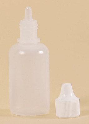 Full Case of 120ml Clear Plastic Dropper Bottles 4 oz