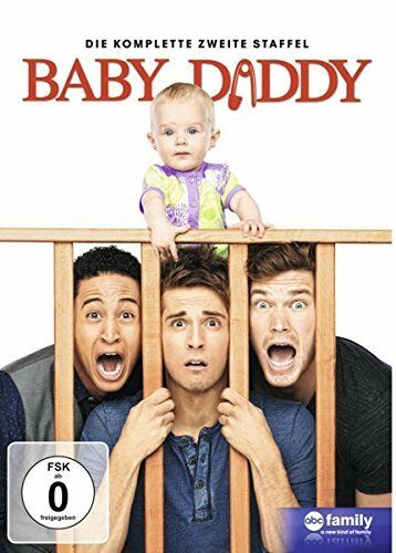 3 DVD-Box ° Baby Daddy ° Staffel 2 ° NEU & OVP