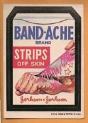 Wacky Packages Band Ache