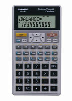 Sharp EL-738C Financial / Business Calculator