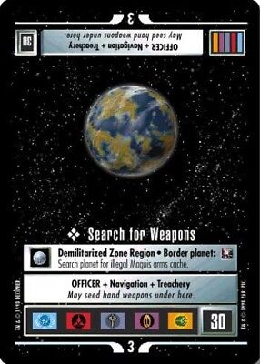 Star Trek: Search for Weapons [Lightly Played] Starter Deck II STCCG Decipher 1E