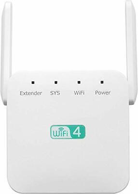 NetTec Boost WiFi Range Extender 300Mbps Novitec ZenBooster Wireless Signal NEW