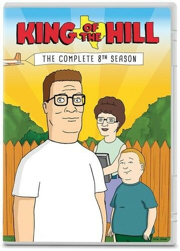 King Of The Hill: The Complete 8th Season - 3 DISC SET (2014, DVD NEW)