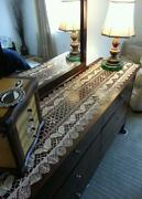 Crochet Dresser Scarf