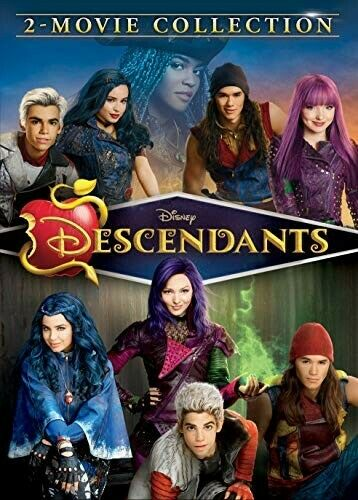 Descendants 1 And 2 [new Dvd] 2 Pack, Ac-3/dolby Digital, Amaray Case,