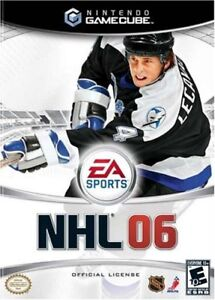 NHL 06 for GameCube and NHL 14 PS3