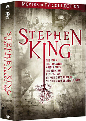 Stephen King TV And Film Collection [New DVD] Boxed Set, Full Frame, O-Card Pa