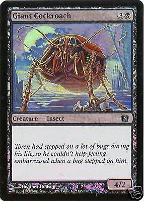 MTG - 8th Edition - Giant Cockroach - 2X - Foil - NM - Giant Cockroach