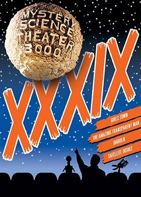 Mystery Science Theater 3000 Volume Xxxix 39 New Sealed 4 Dvd Set Mst3k