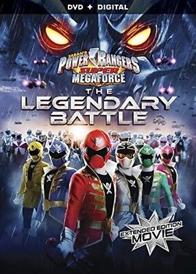 Power Rangers Super Megaforce: Legendary Battle [New DVD]