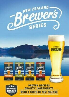 Mangrove Jacks NEW ZEALAND Brewers Series  Beer Kits