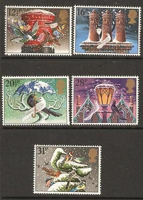 GB MNH STAMP SET 1983 Christmas SG 1231-1235 10% OFF ANY 5+