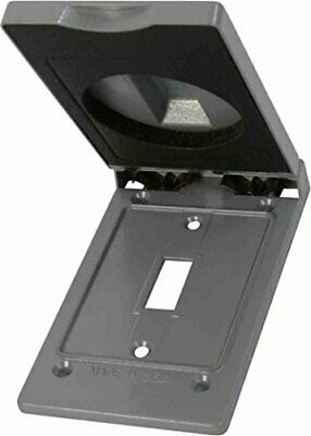 Greenfield Ctsvps Series Weatherproof Electrical Outlet Box Cover Gray