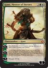 Ajani Mentor of Heroes Near Mint or better Individual Magic: The Gathering Cards