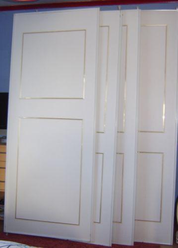 ikea sliding wardrobe doors ebay