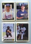 Minor League Baseball Card Lot