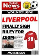 Liverpool Birthday Card