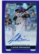 2012 Bowman Chrome Purple Auto