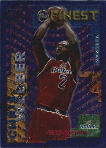 1995-96 Finest Veteran/Rookie #RV4 Rasheed Wallace/Chris Webber - France - 1995-96 Finest Veteran/Rookie RV4 Rasheed Wallace/Chris Webber SHIPPING WORLDWIRE - France