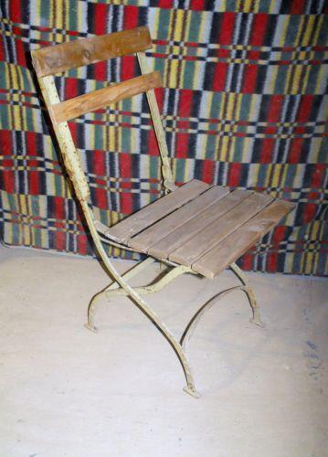 alter gartenstuhl gartenm bel ebay. Black Bedroom Furniture Sets. Home Design Ideas