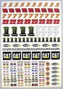 Slot Car Stickers
