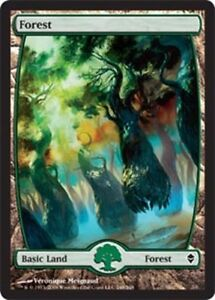 [1x] Forest (248) - Full Art - Foil [x1] Near Mint, English Zendikar -BFG- MTG M