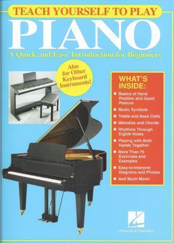 Teach Yourself Piano Ebay