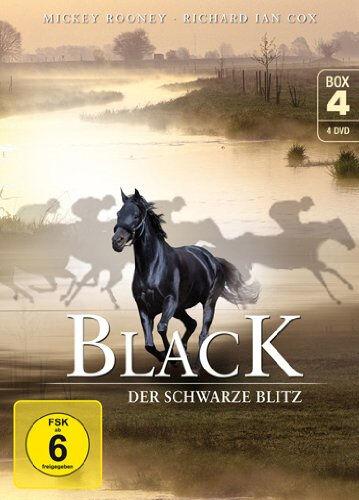 &B 4 DVDs * BLACK , DER SCHWARZE BLITZ - BOX 4 # NEU OVP