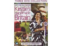 Kirstie Allsopp Kirstie's Handmade Britain Three DVD's