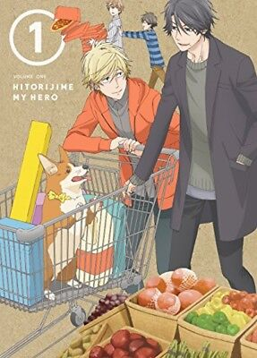 Hitorijime My Hero Vol.1 First Limited Edition Blu-ray Booklet Japan EYXA-11524