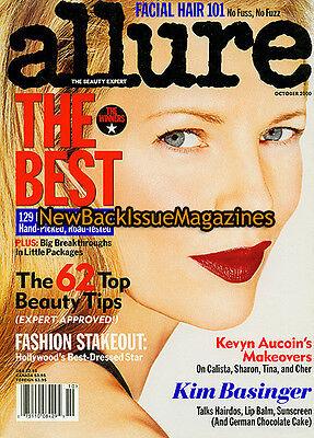 Allure 10 00 Kim Basinger Michelle Rodriguez October 2000 New